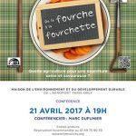 Exposition «De la fourche à la fourchette»