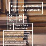 Forum des Activités et Ateliers Culturels Melun 2017