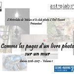 Exposition «Comme les pages d'un livre photo sur un mur»